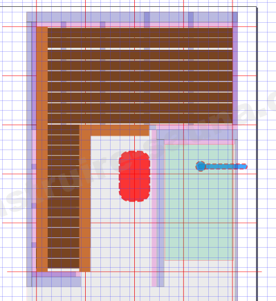 Volume du sauna à calculer avec votre plan.