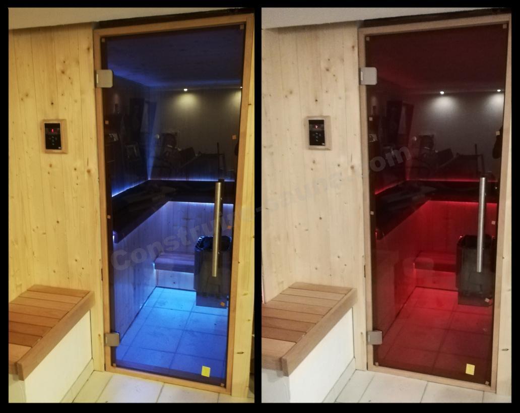 éclairage sauna led